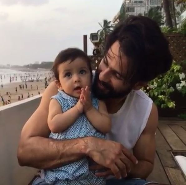Shahid Kapoor shares the CUTEST selfie with wife Mira and daughter ahead of Misha's first birthday!