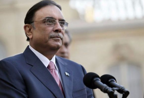 Pakistan's court canceled the corruption case against Asif Ali Zardari