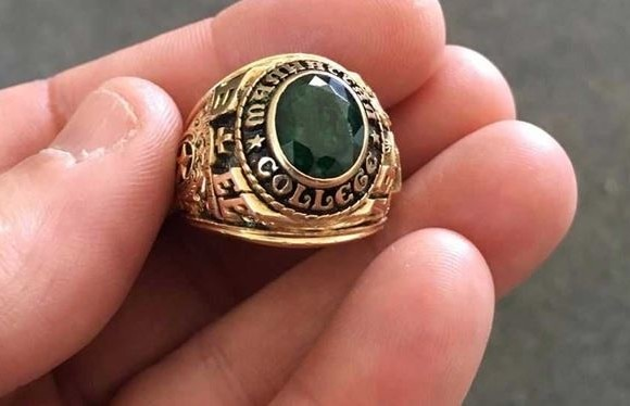 couple finds their ring after 47 years