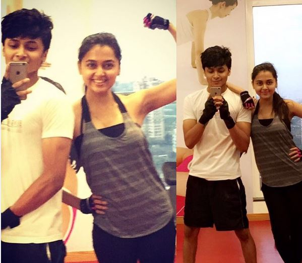 Tejaswi Shares her Fitness Mantra