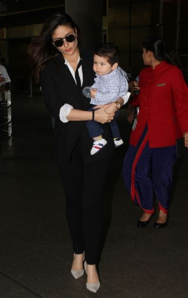 See the latest pictures of Kareena Kapoor Khan and Taimur Ali Khan