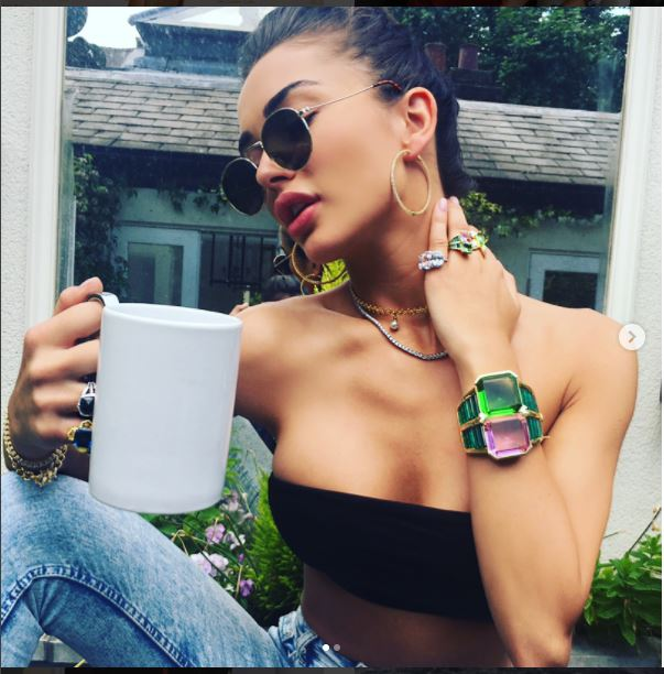Amy Jackson Latest pics on Instagram