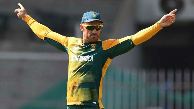 Faf Du Plessis to lead South Africa in all formats