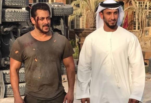 Superstar Salman Khan is bruised on the sets of Tiger Zinda Hai, See pic