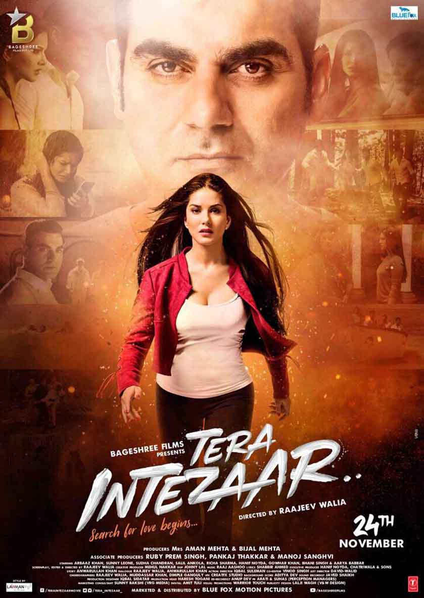Sunny Leone's and Arbaaz Khan's Tera Intezaar's poster released
