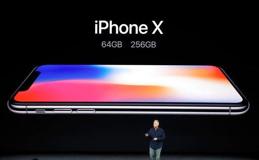 apple Launches IPHONE X  called it  'THE FUTURE OF THE SMARTPHONE'