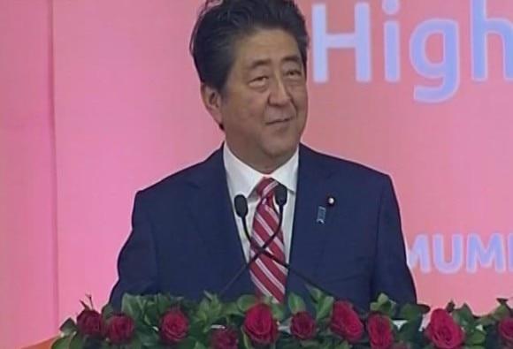 Mumbai-Ahmedabad bullet train: Shinzo Abe says powerful Japan is good for India too