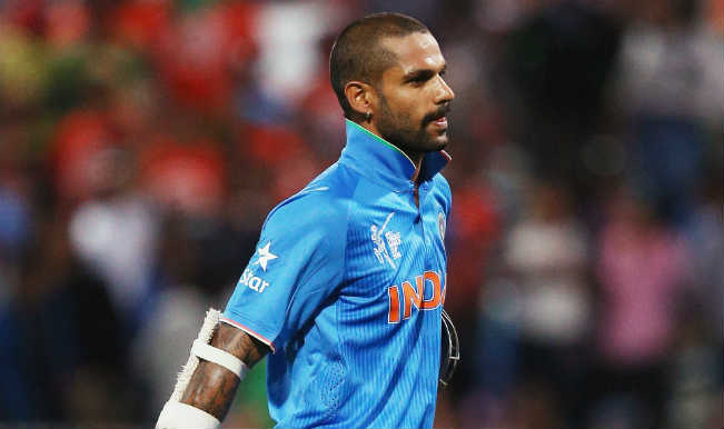 Shikhar Dhawan to miss first three ODI's against Australia