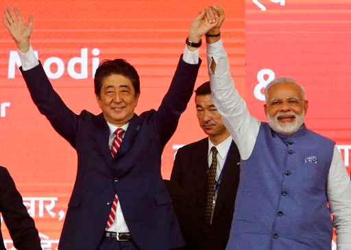 Indo Japan joint statement condemns North Korean Nuclear programme, avoids reference to Doklam, China and South China Sea