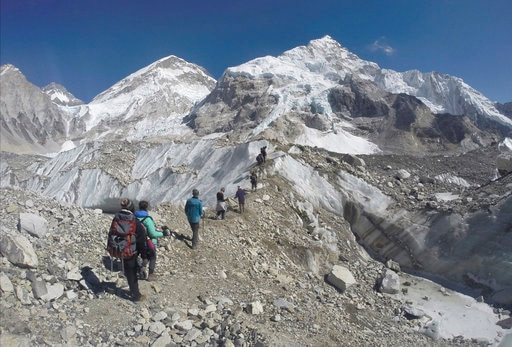 The work of measuring The Mount Everest anew starts