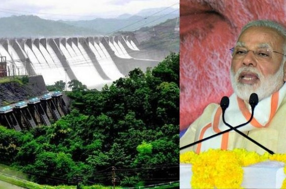 Have a look at journey of Sardar Sarovar dam, Gujarat