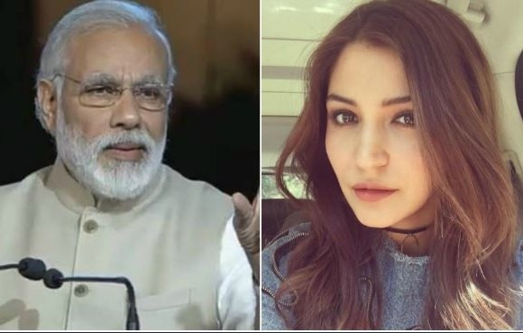 PM Modi invites actress Anushka Sharma to be a part of 'Swachhata Hi Seva' initiative