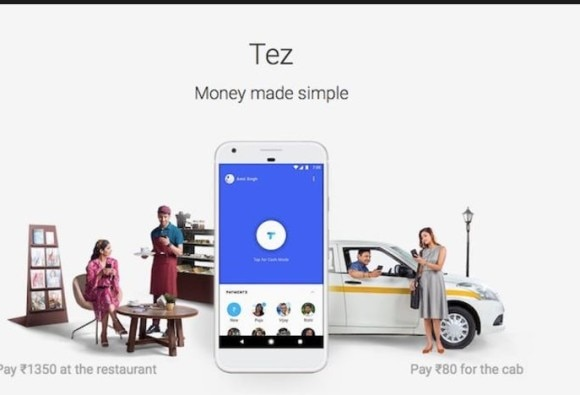 PAYMENT APP TEZ LAUNCHED IN INDIA
