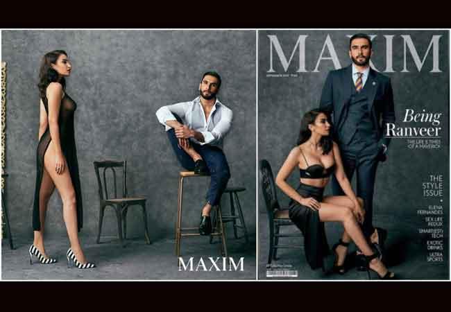 Maxim के कवर फ़ोटोशूट में रणवीर ने की हदें पार, बर्दाश्त कर पाएंगी दीपिका?