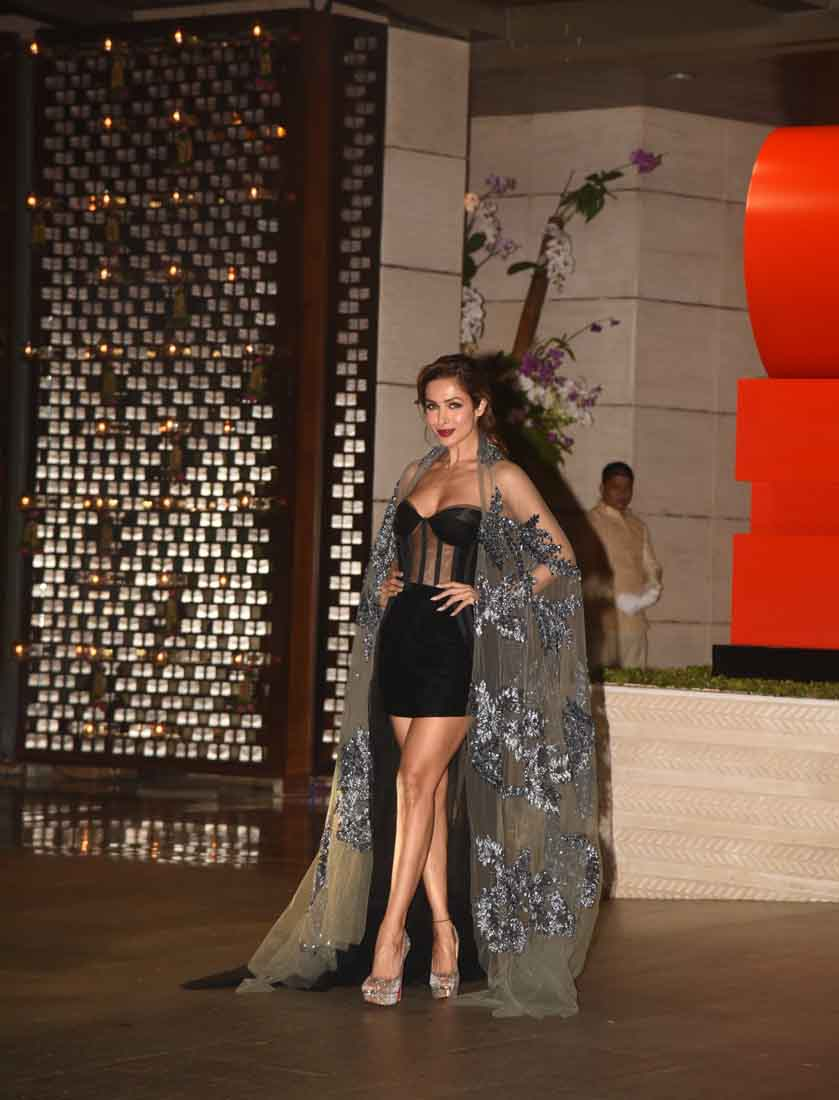 Malaika Arora at the Ambani bash
