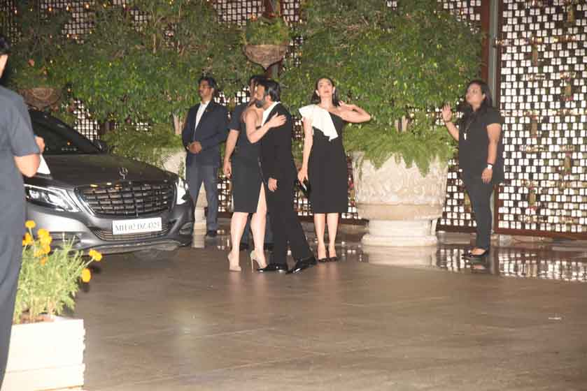 Sister Kareena Kapoor Khan and Karisma Kapoor shines at Ambani bash