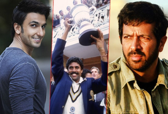 Ranveer Singh to play Kapil Dev in Kabir Khan's movie on 1983 World Cup