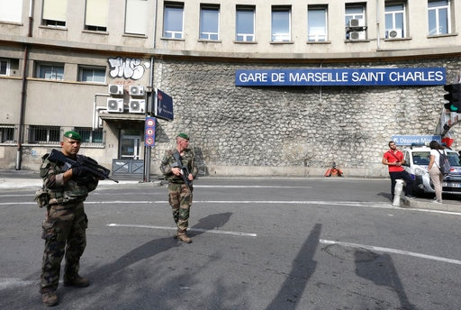 France: solo attacker kills two in an attack at a railway station