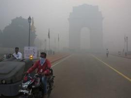 दिवाली के जश्न के बाद दिल्ली की हवा हुई ''खराब''