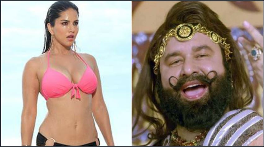 ram rahim wanted to make a film with sunny leone