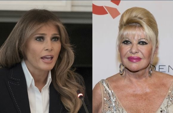 Ivana Trump Says She's The 'First lady, Melania Trump calls it self-serving noise