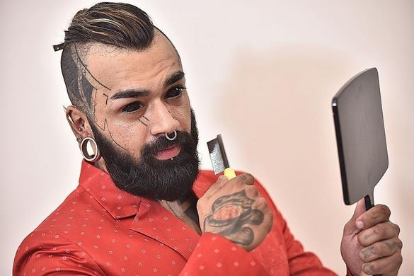 This Delhi man is the first Indian to get his eyeballs tattooed
