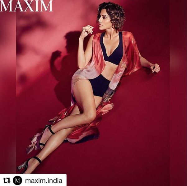 Taapsi Pannu hot Photoshoot for Maxim