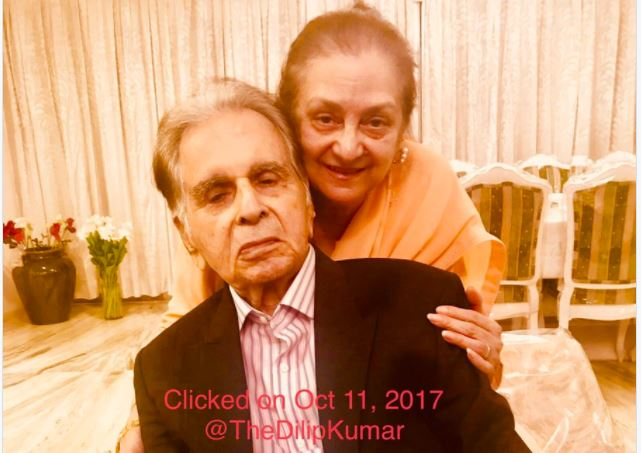 Dilip Kumar, Saira Banu Celebrate 51st Anniversary With Family, Friends. Pics Here