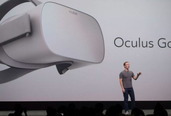 Facebook's Oculus reveals stand-alone virtual reality headset