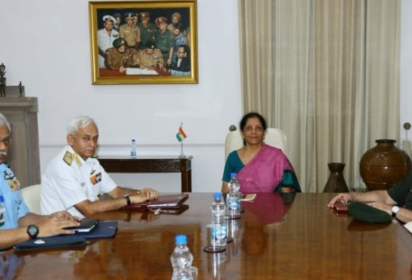 Defence Minister Nirmala Sitharaman to visit Andaman for Diwali