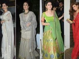 IN PICS: आमिर खान की दिवाली पार्टी में बॉलीवुड की इन हसीनाओं नें लगाया ग्लैमर का तड़का...
