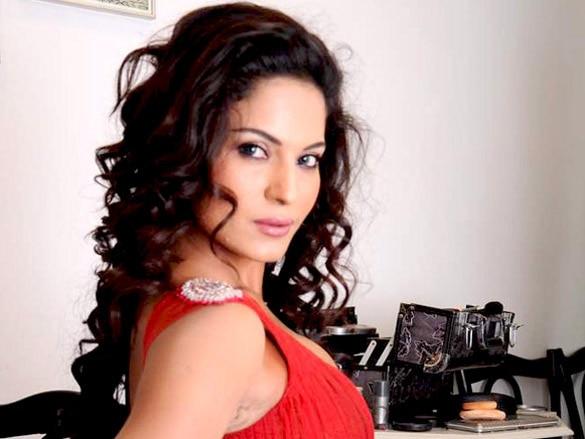 Veena_Malik_backless_photo_shoot_at_Riyaz_Gangji's_store_(8)