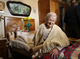 ১১৭ বছর বয়সে মারা গেলেন বিশ্বের বয়স্কতমা নাগরিক এমা মোরানো