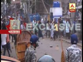 BJP-TMC clash at Howrah over gherao of Shivpur Police Station