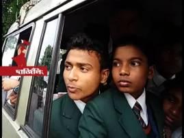 স্কুলপড়ুয়াদের সমতলে ফেরার জন্যে ১২ ঘণ্টা শিথিল অনির্দিষ্টকালের পাহাড় বনধ