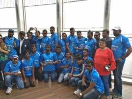 দৃষ্টিহীনদের বিশ্বকাপ চ্যাম্পিয়ন ভারতীয় দলকে কুর্ণিশ সচিনের