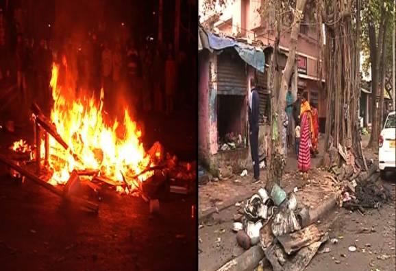 যাদবপুরে চায়ের দোকানের আড়ালে মাদক বিক্রির অভিযোগ, দোকান ভাঙচুর করে আগুন দিলেন স্থানীয়রা