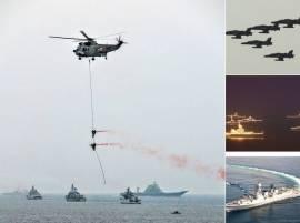52 देशांच्या 90 युद्धनौका, बंगालच्या उपसागरात शक्तीप्रदर्शन