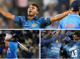 श्रीलंकेची भारतावर पाच विकेट्सनी मात