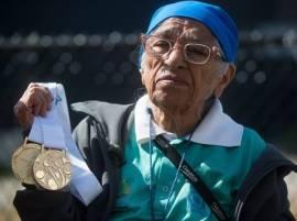 जिद्दीला सलाम! धावण्याच्या स्पर्धेत वयाच्या 100 व्या वर्षी तीन सुवर्ण पदकं