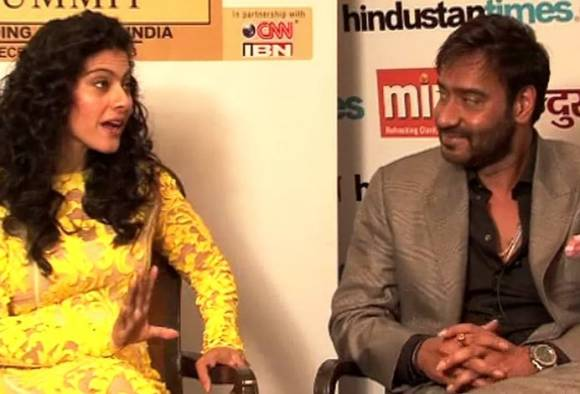 when are you coming for lunch Kajol asked to ajay devgan in AjayTalks