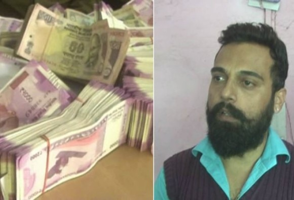 tv artist caught with new note