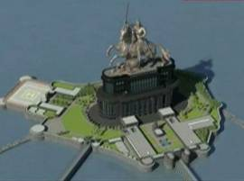 शिवस्मारक जगात सर्वात उंच, 210 मीटरपर्यंत उंची वाढवण्याचा प्रस्ताव