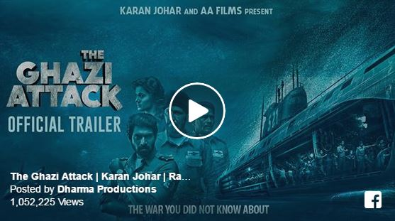 Karan Johar and AA Films The Ghazi Attack trailer release