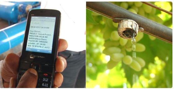 farmers installed wireless irrigation scheme in sangli