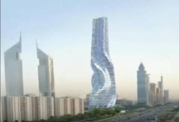 Dubai set to receive rotating skyscraper by 2020