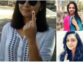 BMC Election 2017 : मराठी सेलिब्रिटींचं मतदान