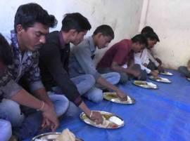 वाशिममधील कारंजा बाजार समितीत शेतकऱ्यांना 5 रुपयात पोटभर जेवण