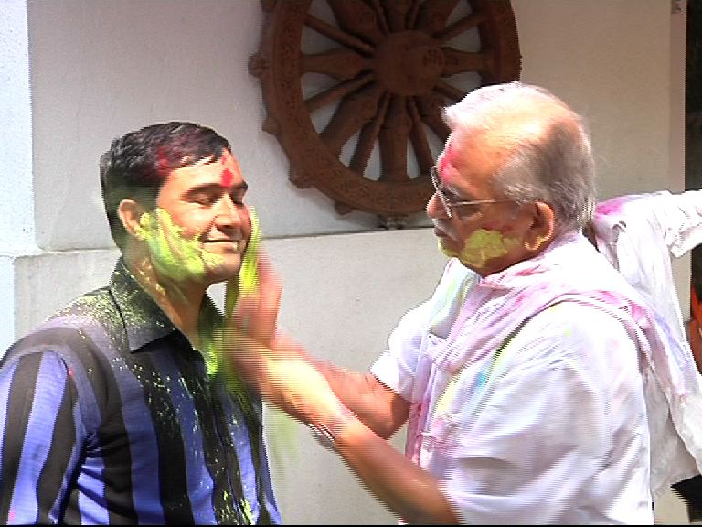 Gulzar Holi celebration