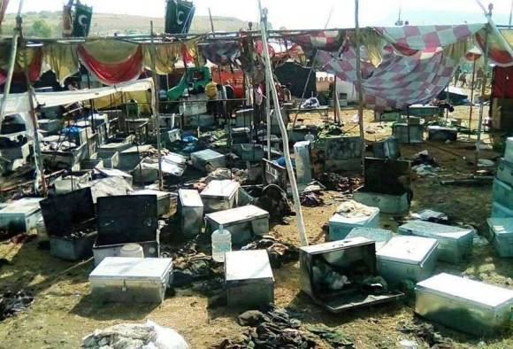 Unknow men tries to set ablaze Rani Padmavatis' set in Kolhapur
